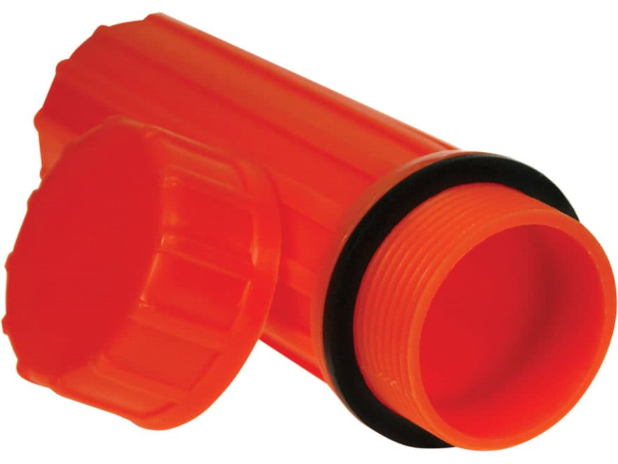 UST Waterproof Match Case Polymer Orange