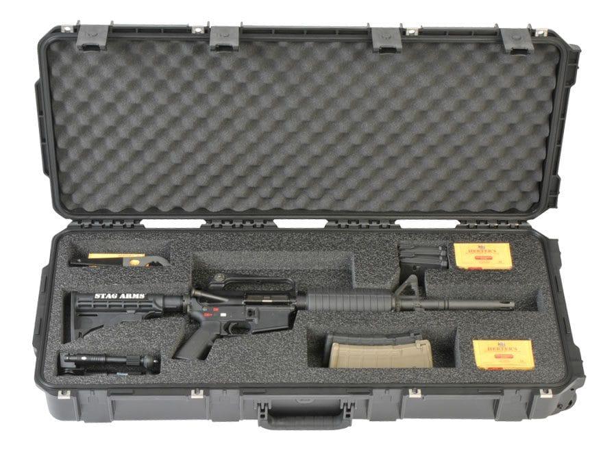 "SKB iSeries 3614 Small AR Rifle Case 35"" Polymer Black"