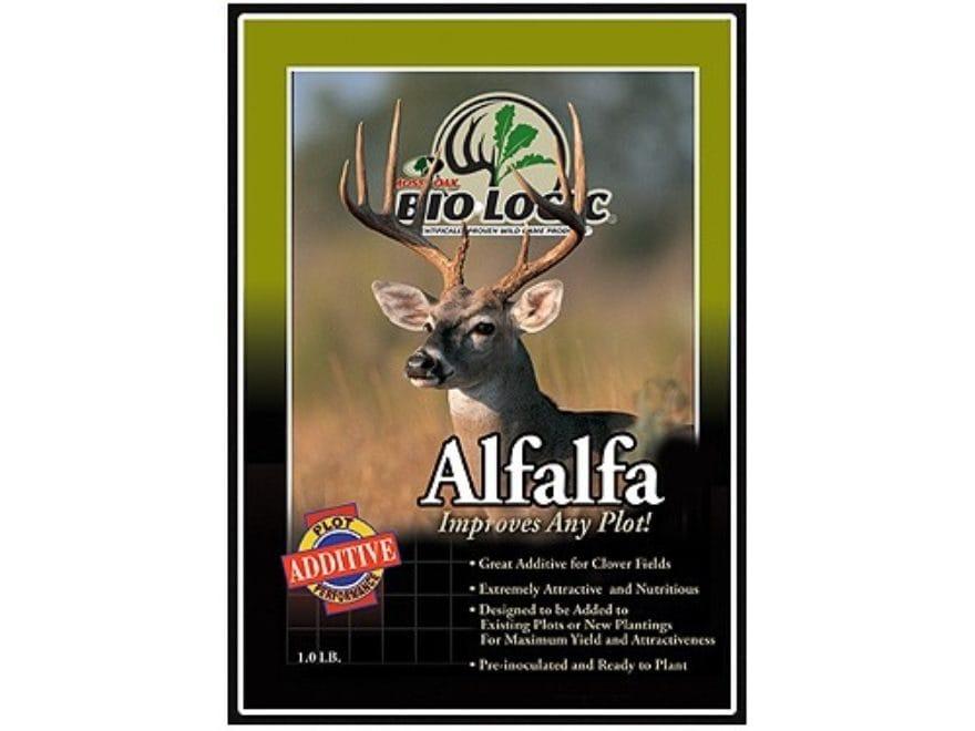 BioLogic Alfalfa Perennial Food Plot Seed 1 lb