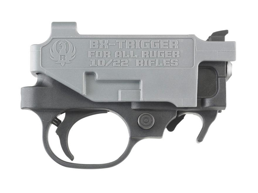 Ruger BX Trigger Guard Assembly Ruger 10/22 2.5-3.0 lb Polymer Black