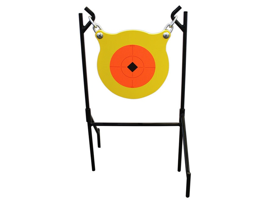 "Birchwood Casey Boomslang Target System 9.5"" Gong 1/2"" AR500 Steel Yellow"