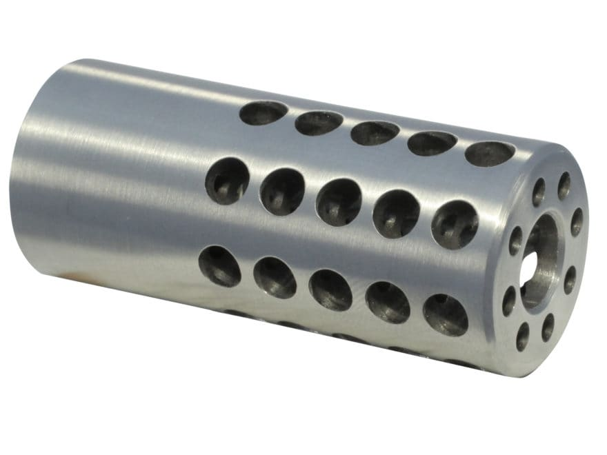 "Vais Muzzle Brake Micro 270 Caliber 1/2""-32 Thread .750"" Outside Diameter x 1.750"" Leng..."