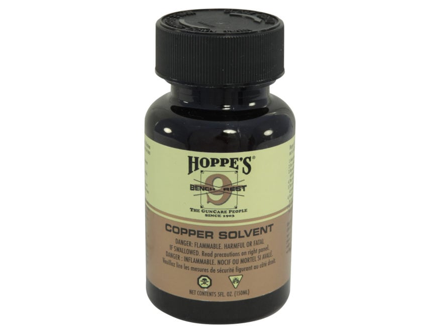 Hoppe's #9 Bench Rest Copper Bore Cleaning Solvent Liquid