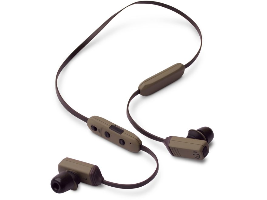 Walker's Rope Hearing Enhancer Electronic Enhancement & Protection (NRR 29) Flat Dark E...