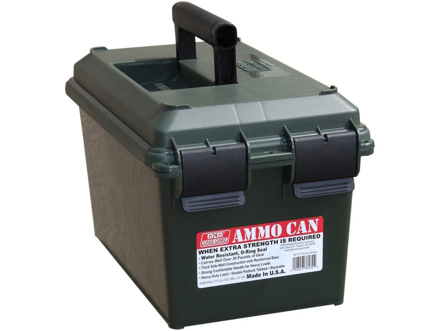 MTM AC11 and AC35 Ammo Cans Polymer