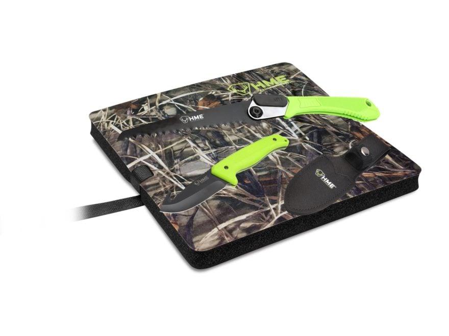 HME Super Slam Turkey Hunting Combo Knife, Saw & Seat