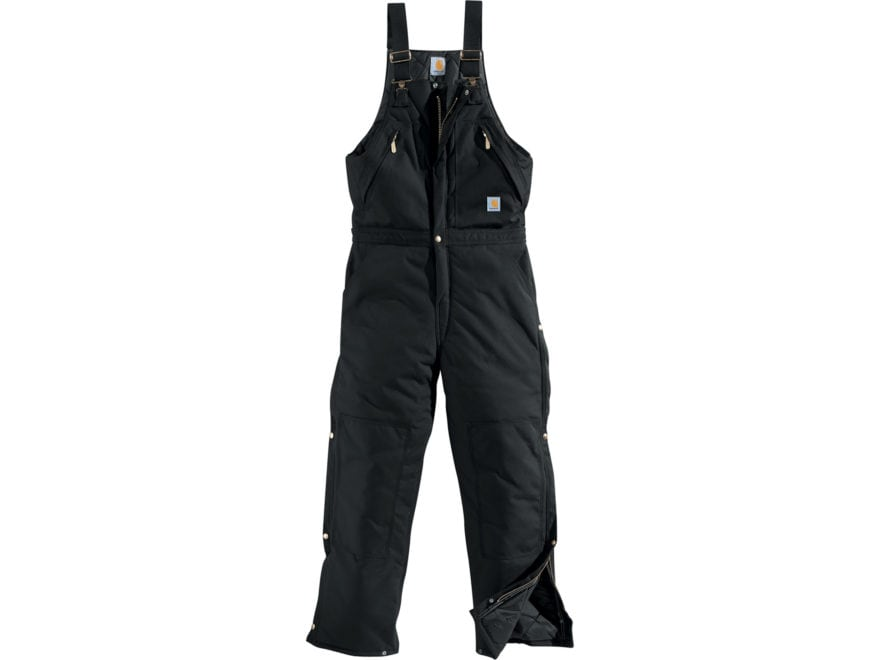 Carhartt Men's Yukon Extremes Arctic Quilt Lined Zip to Waist Biberalls Cordura Nylon