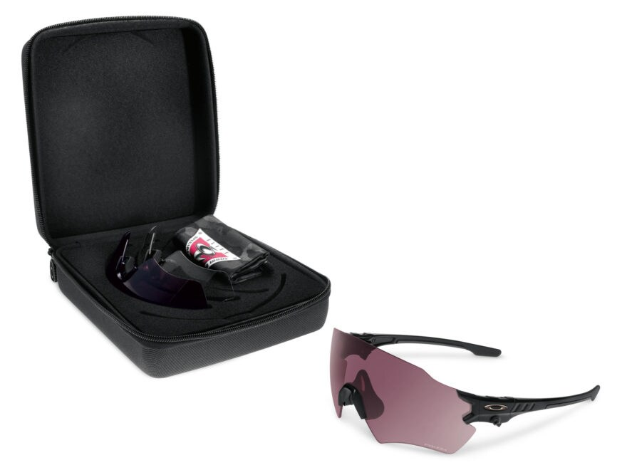 b6defb30ab Oakley SI Tombstone Shooting Glasses Kit Matte Black Reap Frame Prizm TR22