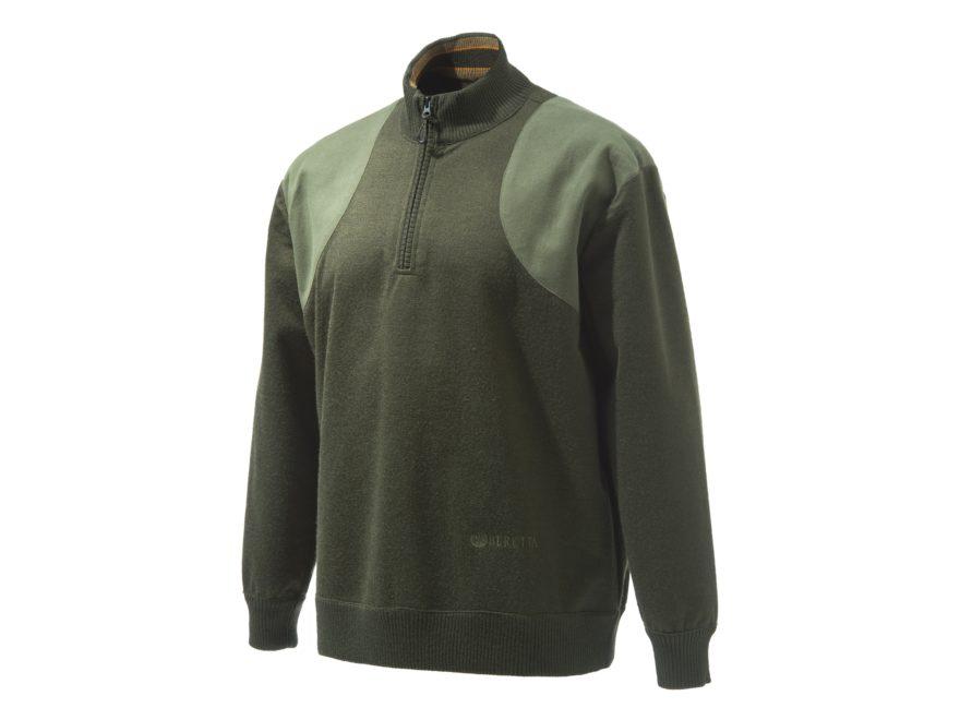 Beretta Men's Honor Windstop 1/4 Zip Sweater Polyester