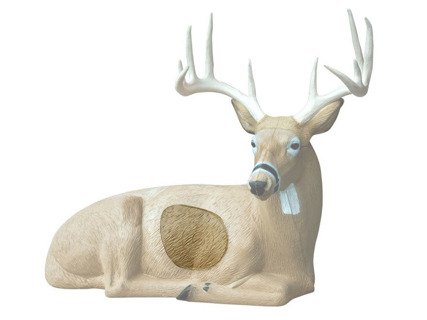 Rinehart Bedded Buck Deer 3D Foam Archery Target Replacement Insert
