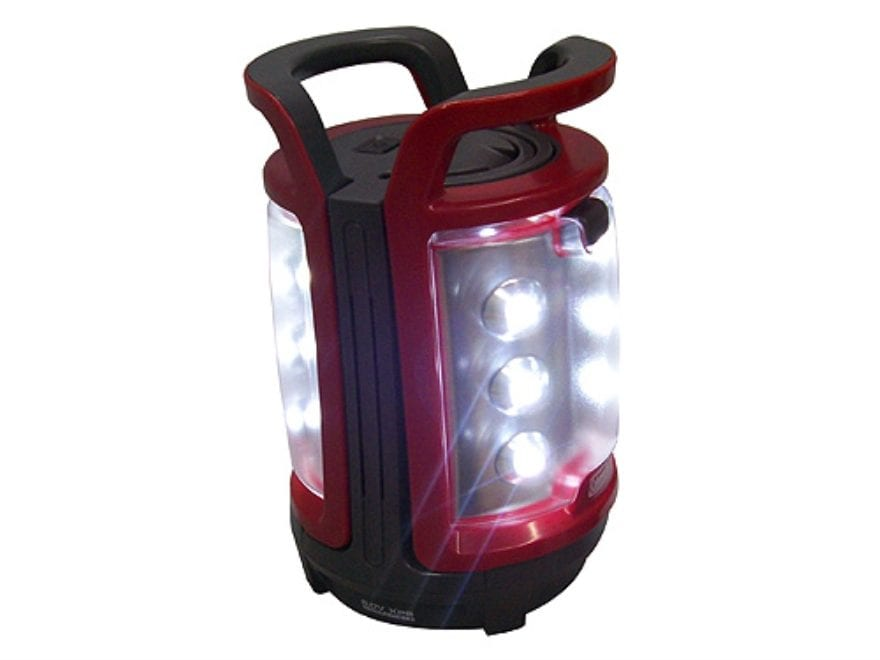 Coleman Duo LED Lantern without Batteries (4 D) Polymer Red and Gray