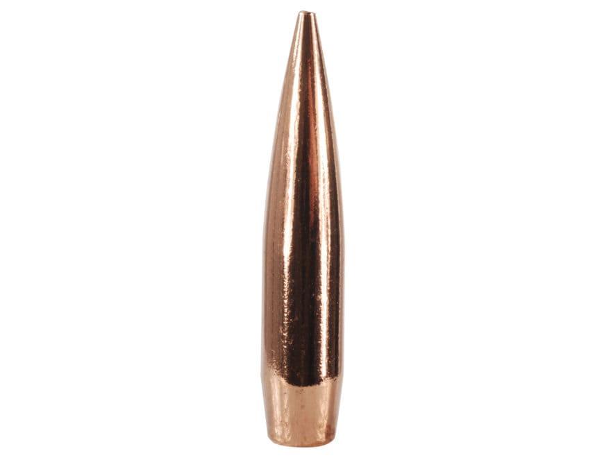 Berger Hybrid Target Bullets 243 Caliber, 6mm  (243 Diameter) 105 Grain Hollow Point Bo...