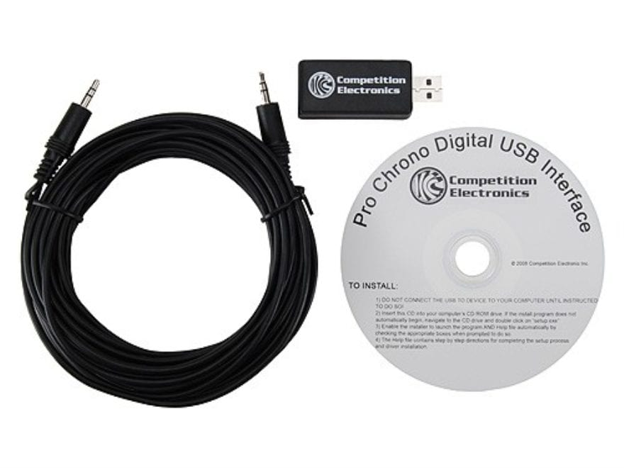 Competition Electronics Digital USB Interface for Pro Chrono Digital Chronograph