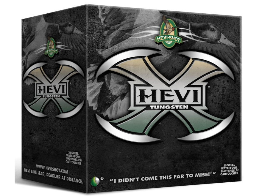 Hevishot Hevi-X Waterfowl Ammunition 12 Gauge Non-Toxic Tungsten Shot