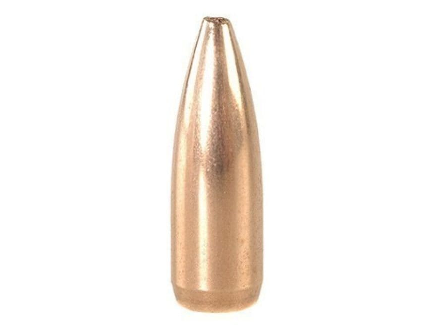 Factory Second Match Bullets 22 Caliber (224 Diameter) 52 Grain Hollow Point Boat Tail ...