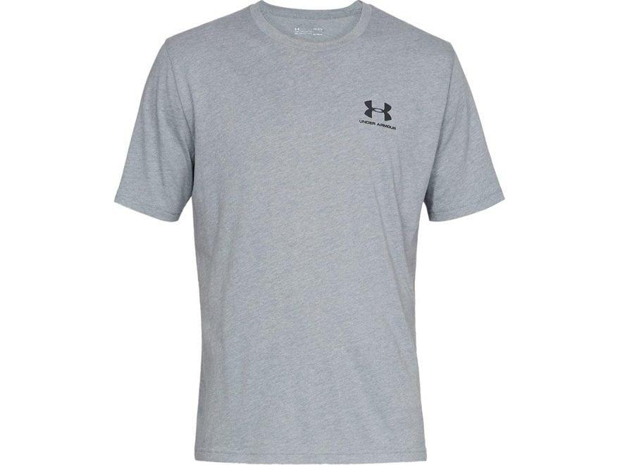 e1382a1fe1 Under Armour Men's UA Sportstyle Left Chest Short Sleeve T-Shirt Cotton/Poly