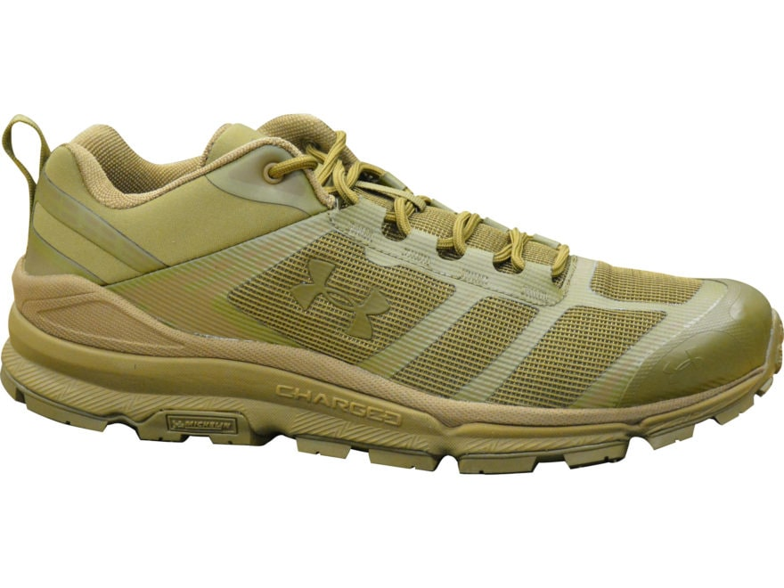 """Under Armour UA Verge Low 4"""" Hiking Shoes Synthetic Coyote Brown Men's 10.5 D"""