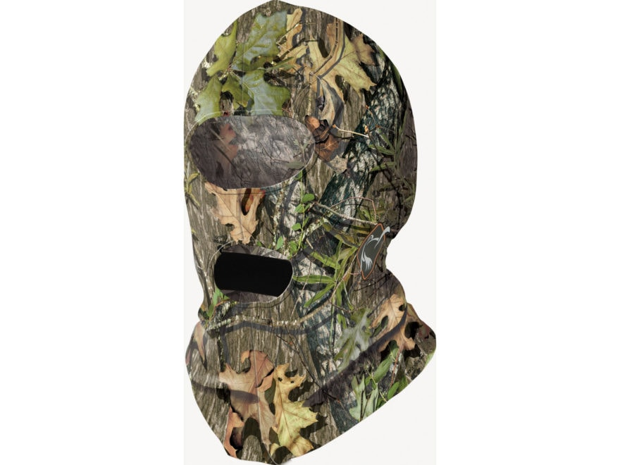 Ol' Tom Performance Full Face Mask Polyester Mossy Oak NWTF Obsession Camo