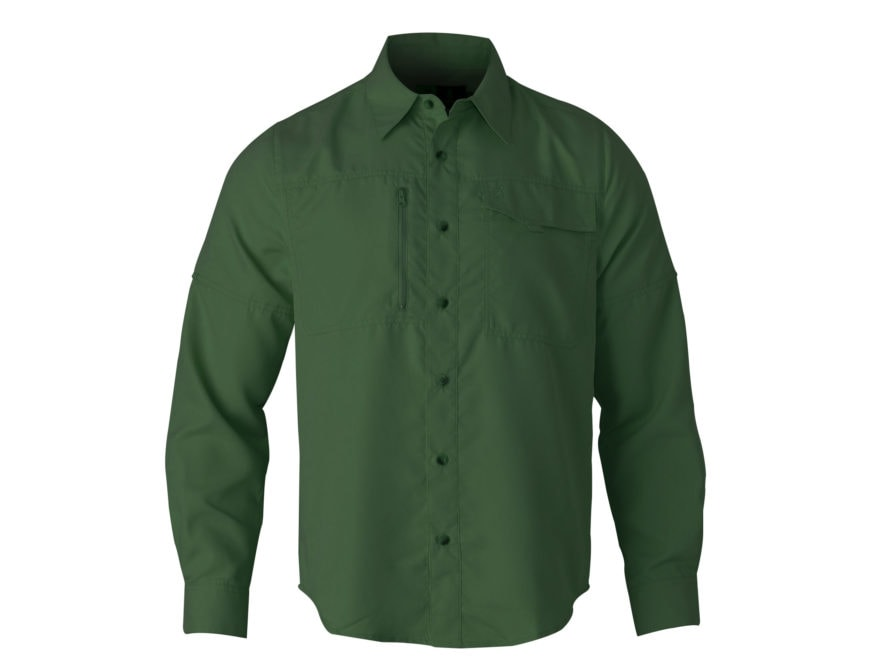 Browning Men's Phenix Shooting Shirt Long Sleeve Polyester