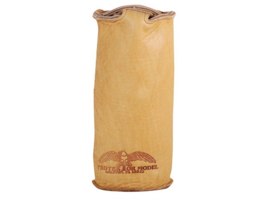Protektor Sissy Rear Shooting Rest Bag Leather Tan Filled