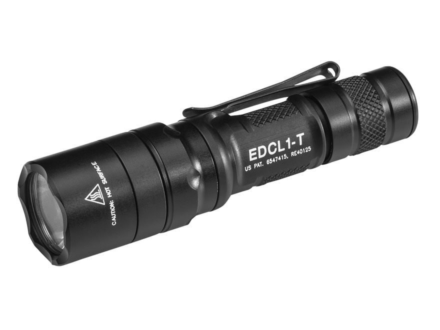 Surefire Everyday Carry Light 1 Flashlight LED with 1 CR123A Battery Aluminum Black