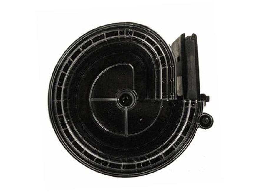 MWG Magazine AR-15 223 Remington 90-Round Polymer Black