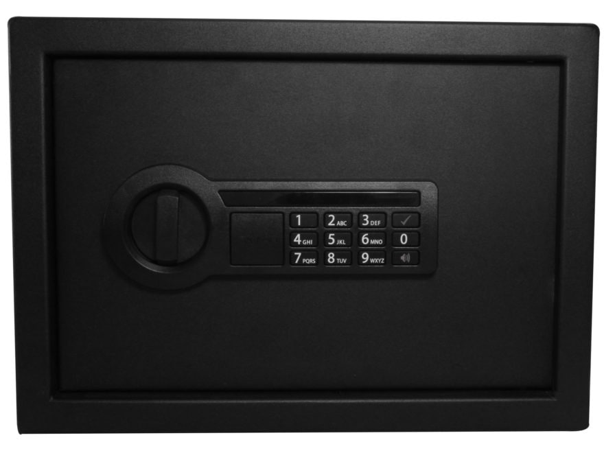 Stack-On Personal Safe with Electronic Lock Black
