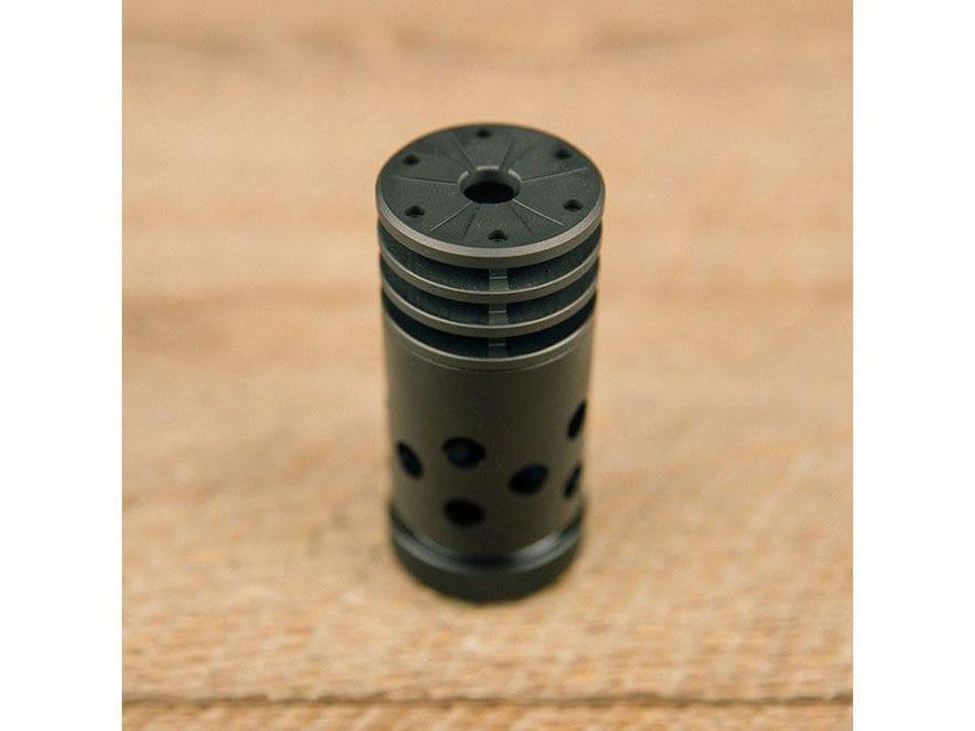 SilencerCo ASR Muzzle Brake for ASR Muzzle Devices Steel Matte