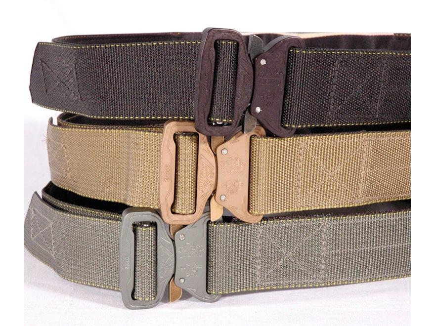 """CrossTac D-Belt II Tactical Belt 1-3/4"""" Steel Cobra Buckle Nylon"""