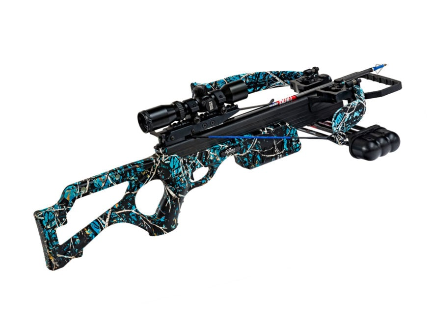 Excalibur Micro Serenity 308Short Crossbow Package with Dead Zone Scope Muddy Girl Sere...