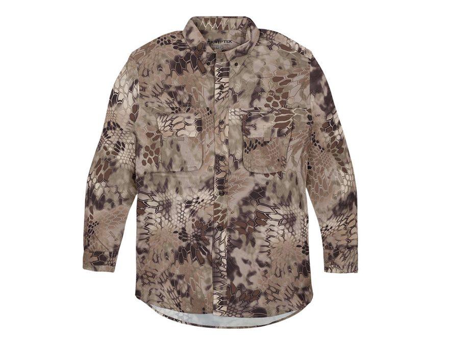 Kryptek Men's Adventure Shirt II Shirt Long Sleeve Polyester