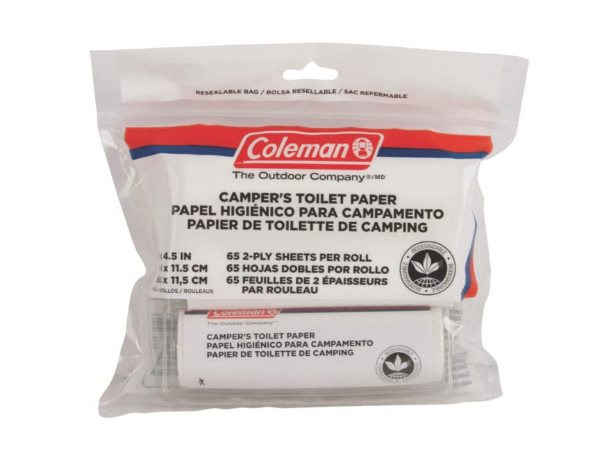 Coleman Biodegradable Campers Toilet Paper Roll Pack of 3