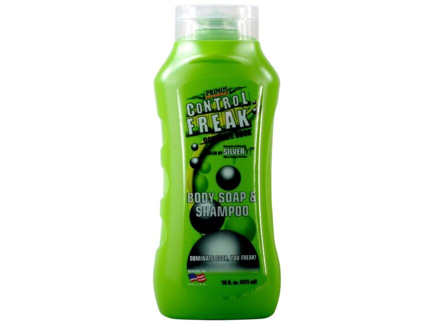 Primos Control Freak Scent Elimination Liquid Body Soap and Shampoo 16 oz