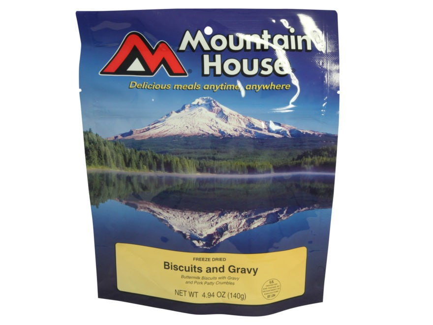 Mountain House Biscuits and Gravy Freeze Dried Food 4.94 oz