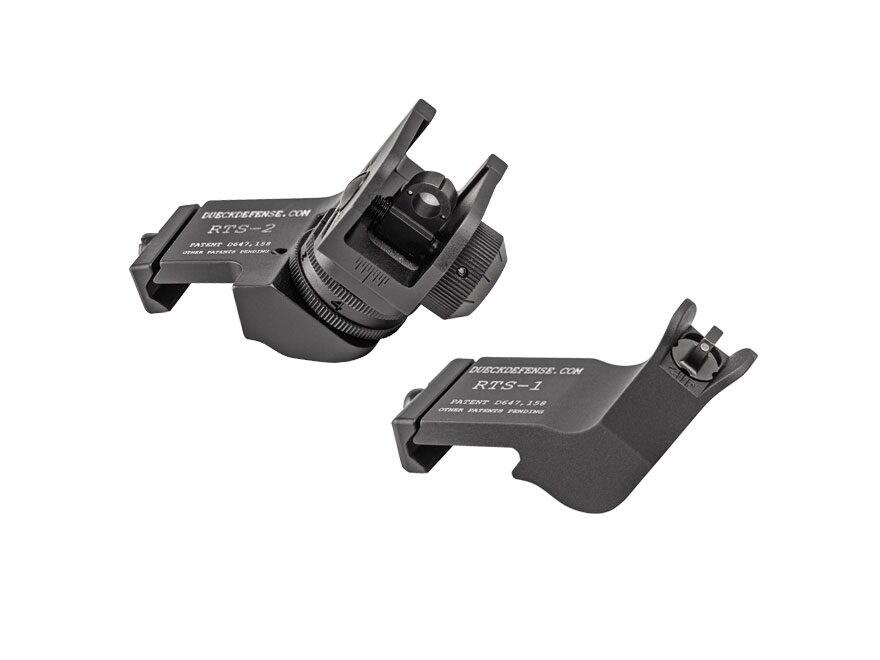 Surefire Rapid Transition Sight Offset Night Sight Set AR-15 Tritium 3-Dot Aluminum Matte