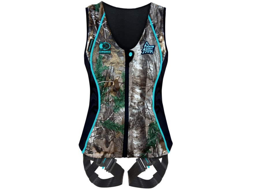 8988e4bd64f63 Hunter Safety System Contour Treestand Safety Harness Realtree Xtra Camo