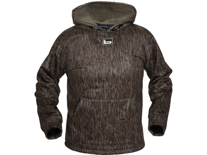Banded Atchafalaya Hooded Pullover Polyester