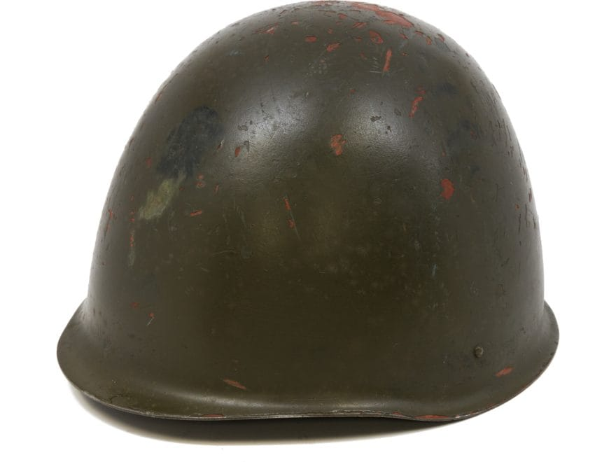 e1cb5db783be0 Military Surplus Polish Helmet Grade 2 Steel Olive Drab