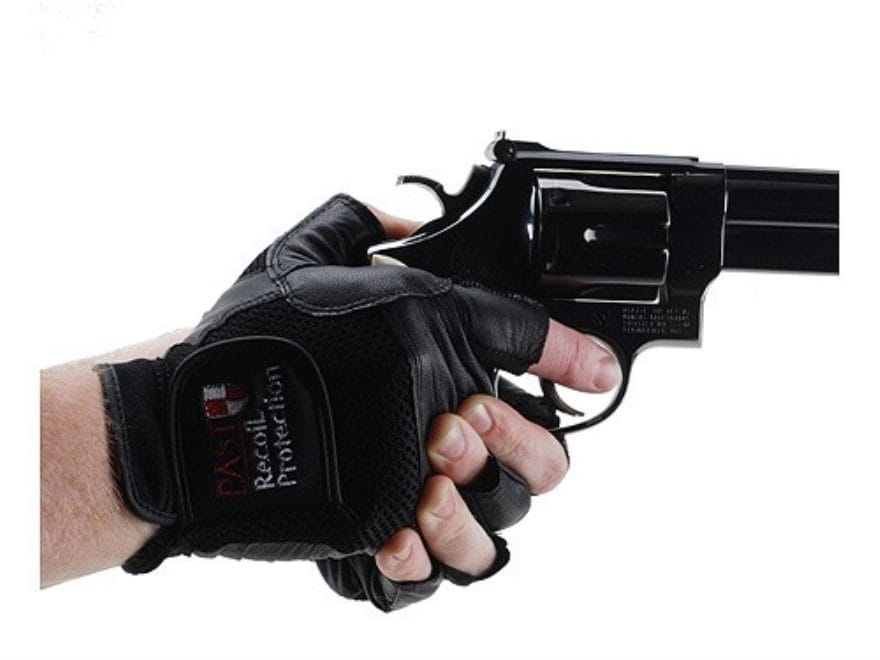 Past Professional Shooting Gloves Fingerless Leather Mpn 151114