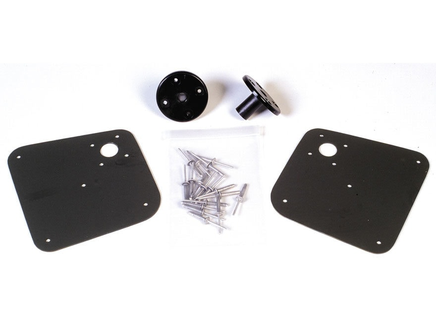 Beavertail Stealth 1200 Oar Lock Kit Steel