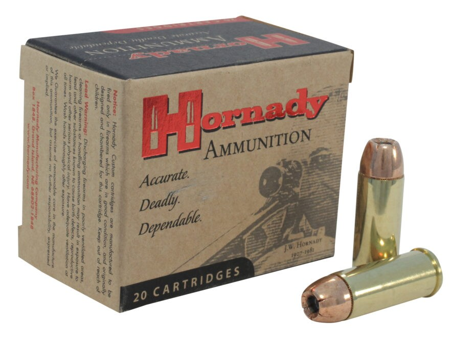Hornady Custom Ammunition 480 Ruger 325 Grain XTP Jacketed Hollow Point Box of 20