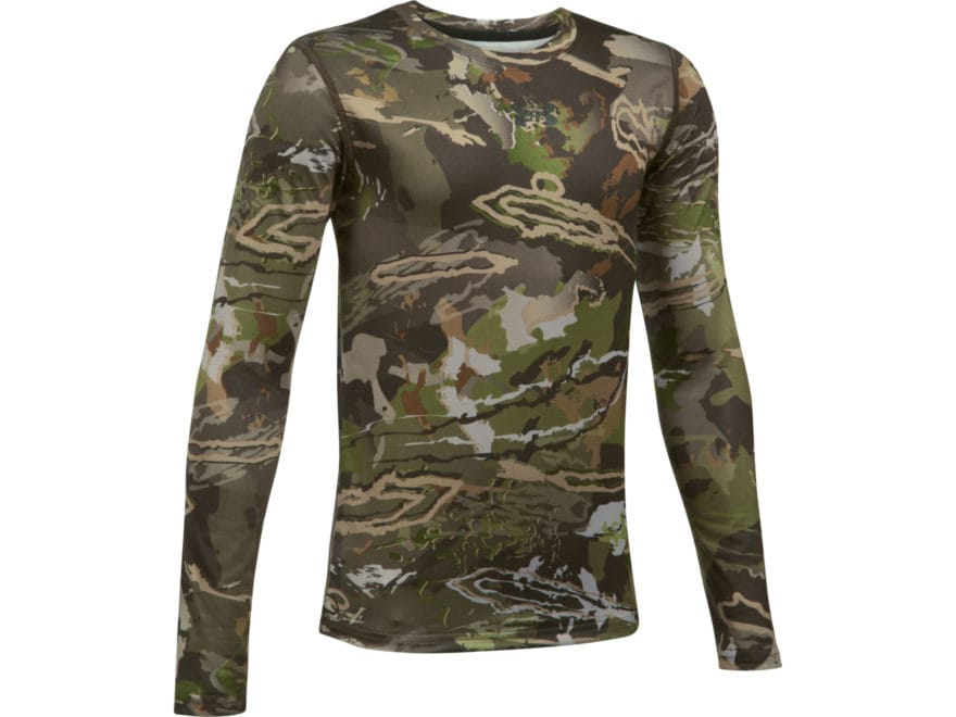 Under Armour Youth UA Scent Control Tech Shirt Long Sleeve Polyester