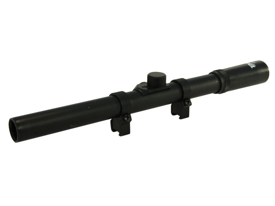 Daisy Powerline Air Rifle Scope 4x 15mm Duplex Reticle Matte with Rings