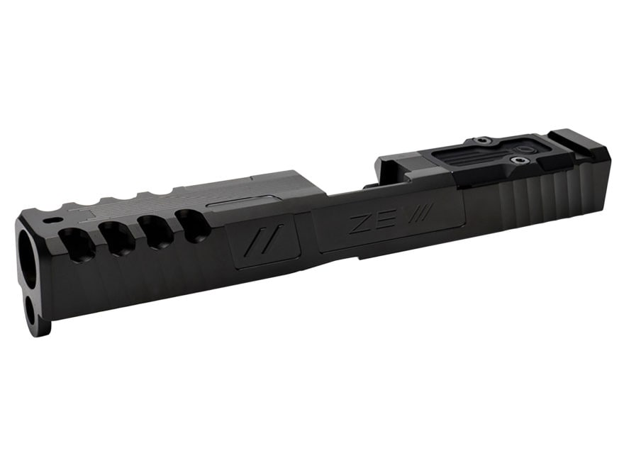 ZEV Technologies Spartan Signature Slide with Trijicon RMR Red Dot Sight Cut and Slide ...
