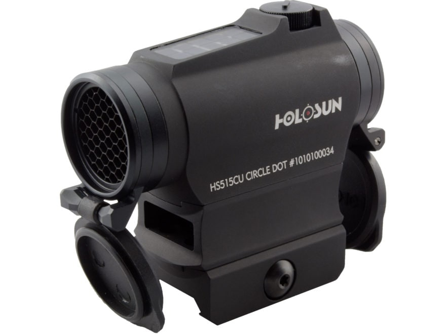 Holosun HS515CU Paralow Red Dot Sight 1x Selectable Reticle Weaver-Style Quick-Release ...