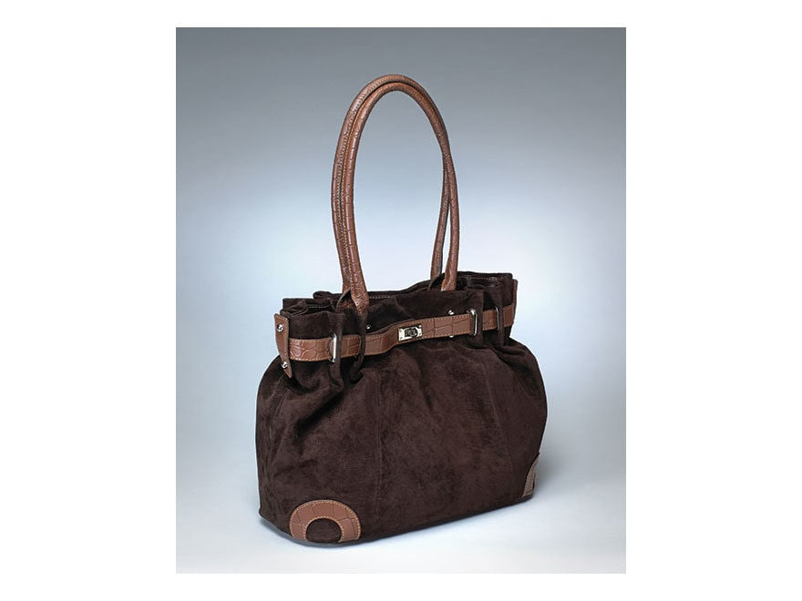 Gun Tote'N Mamas Legacy Purse Leather Cocoa Brown