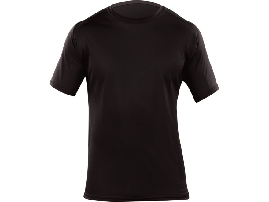 5.11 Men's Loose Fit Tactical Undergear Shirt Short Sleeve Synthetic Blend