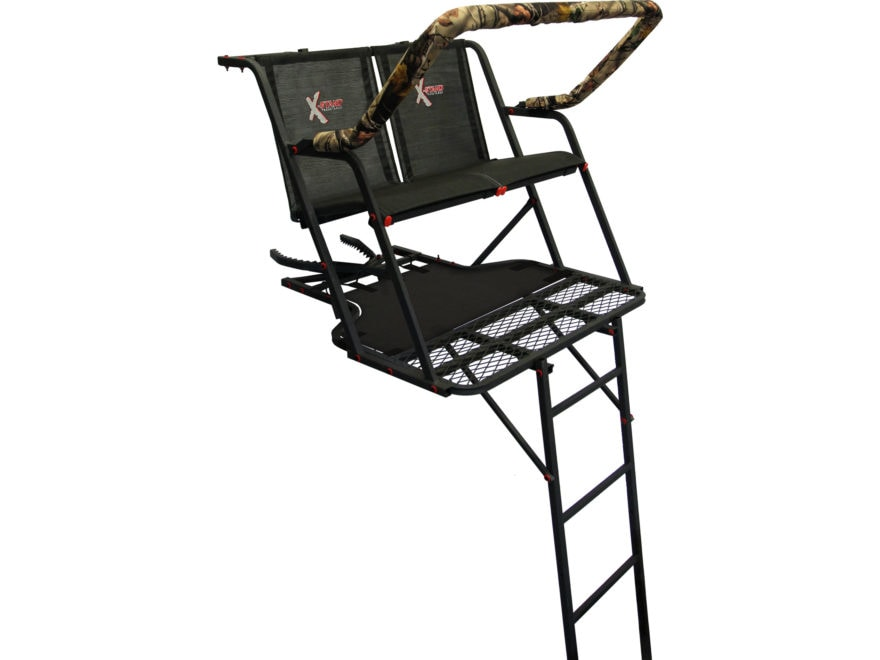 X-Stand The Outback 16' Double Ladder Treestand Steel