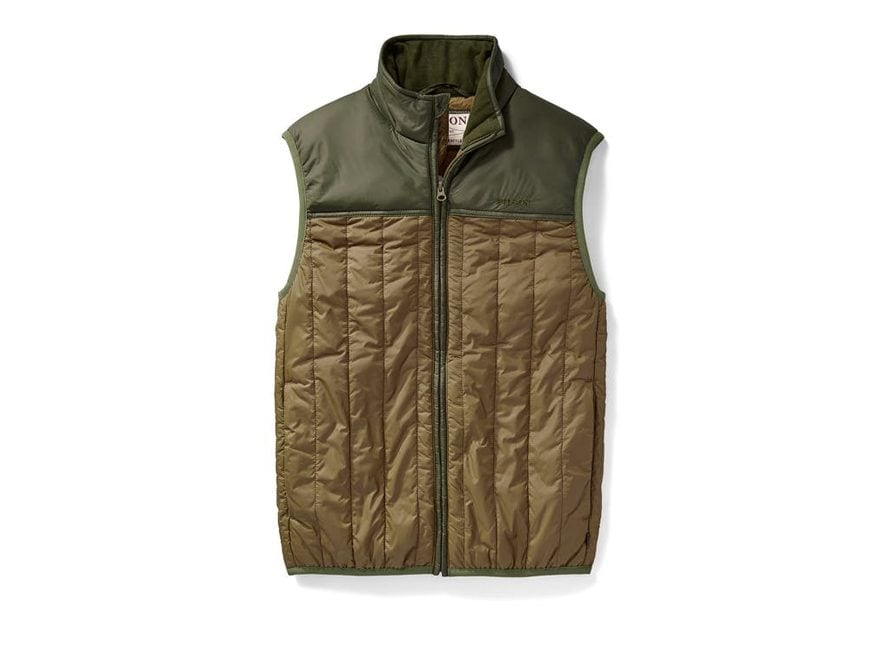 Filson Men's Ultra Light PrimaLoft Insulated Vest Cordura Ripstop Nylon