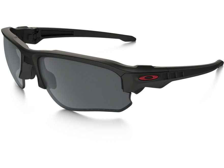 ccd3677ad5 Oakley SI Speed Jacket Sunglasses Matte Black Frame Black Iridium Lens